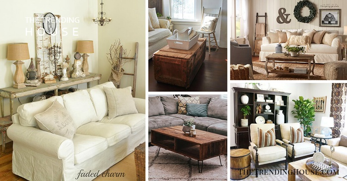 21 Rustic Living Room Furniture Ideas