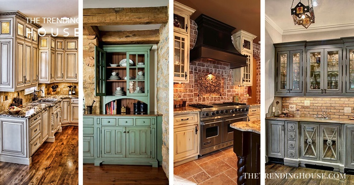 27 Cabinets For The Rustic Kitchen Of Your Dreams Usefull
