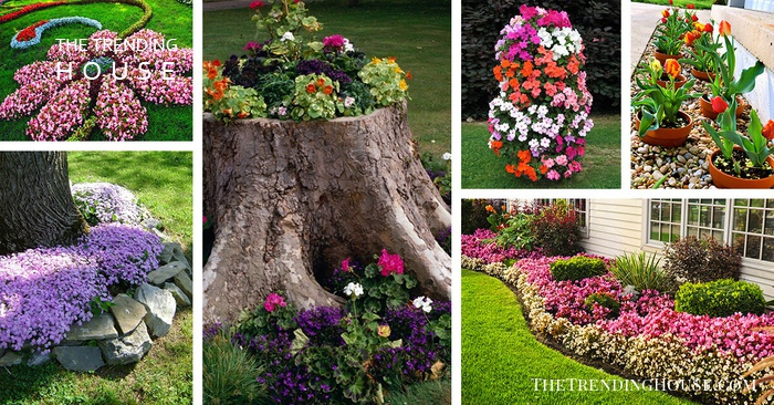27 gorgeous and creative flower bed ideas to try - the