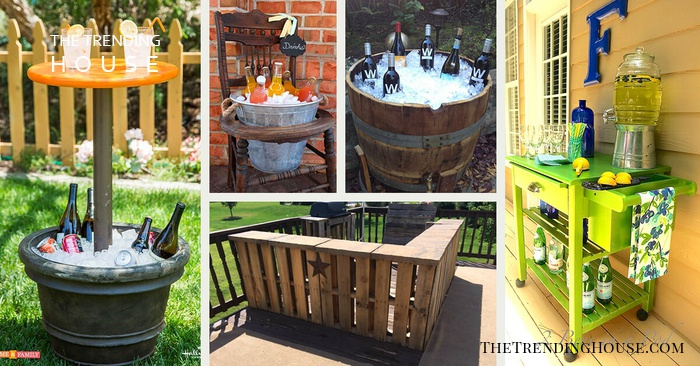 32 Diy Outdoor Bars That Are Easy To Create The Trending