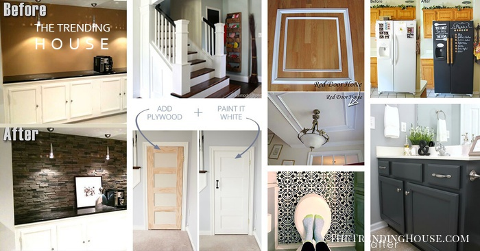 Home Upgrade Ideas: 34 Easy Remodelling Projects And Ideas For A Stylish And