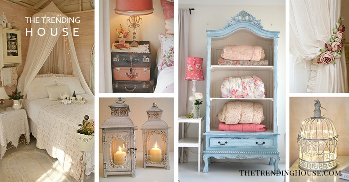 35 Amazingly Pretty Shabby Chic Bedroom Design And Decor Ideas The Trending House