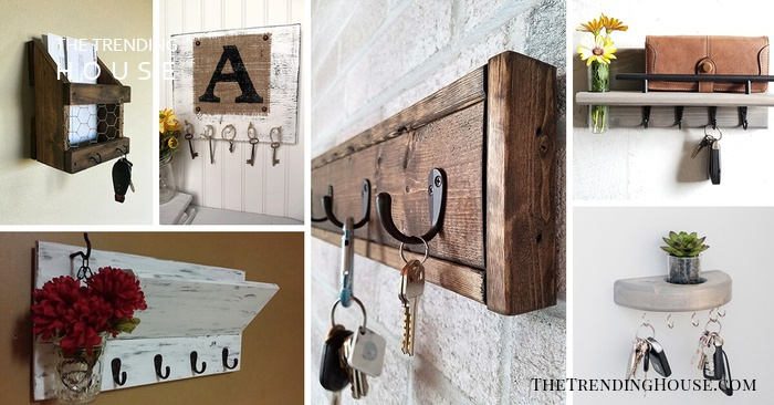 35 Unique Wall Key Holders For Your Home S Entryway The Trending House