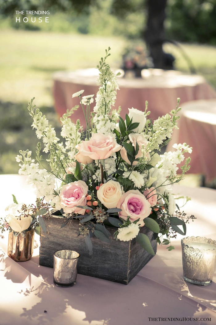25 Simple And Cute Rustic Wooden Box Centerpiece Ideas To Liven Up Your Decor The Trending House