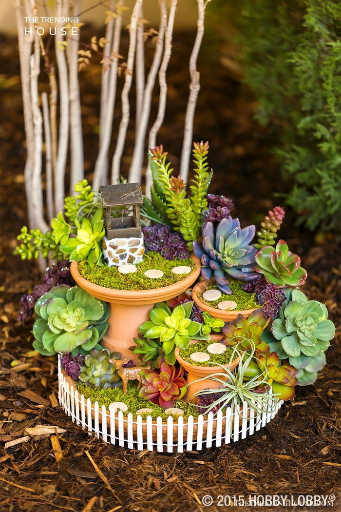 A Quiet DIY Fairy Garden Wishing Well