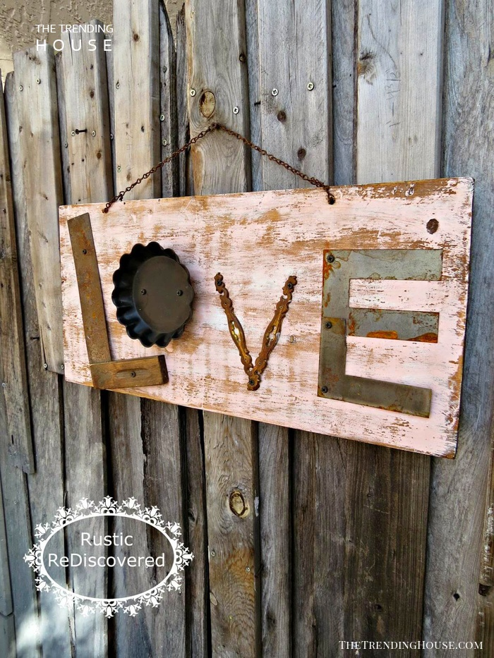 A Rustic Industrial Kind of Love