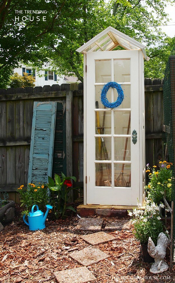 A Tiny House for Your Garden Tools