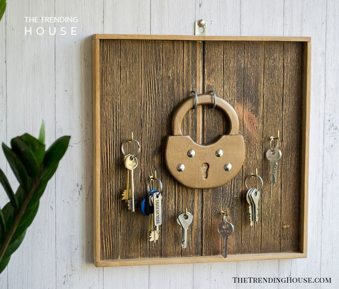 Antique Lock to Organize Your Keys