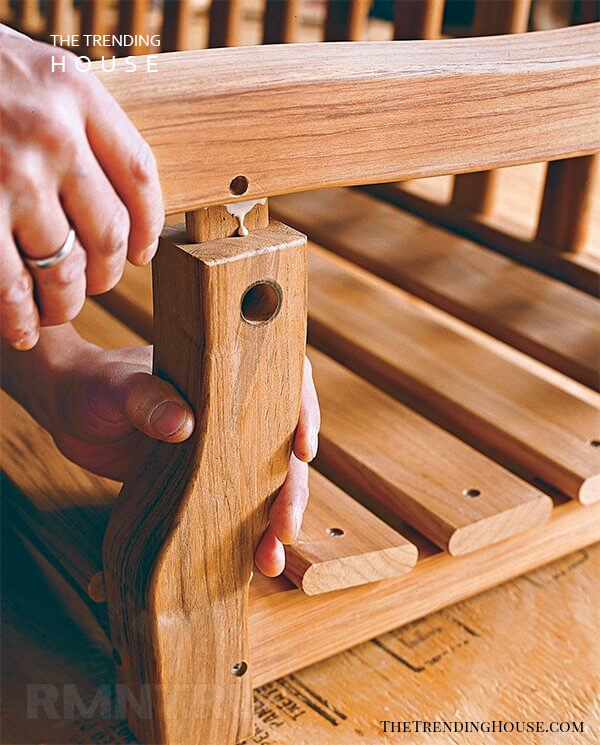 Assembly-Chic DIY Wooden Porch Swing