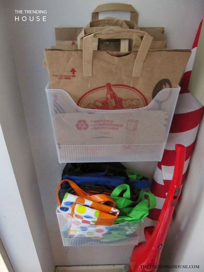 Avoid Clutter by Keeping Bags Organized