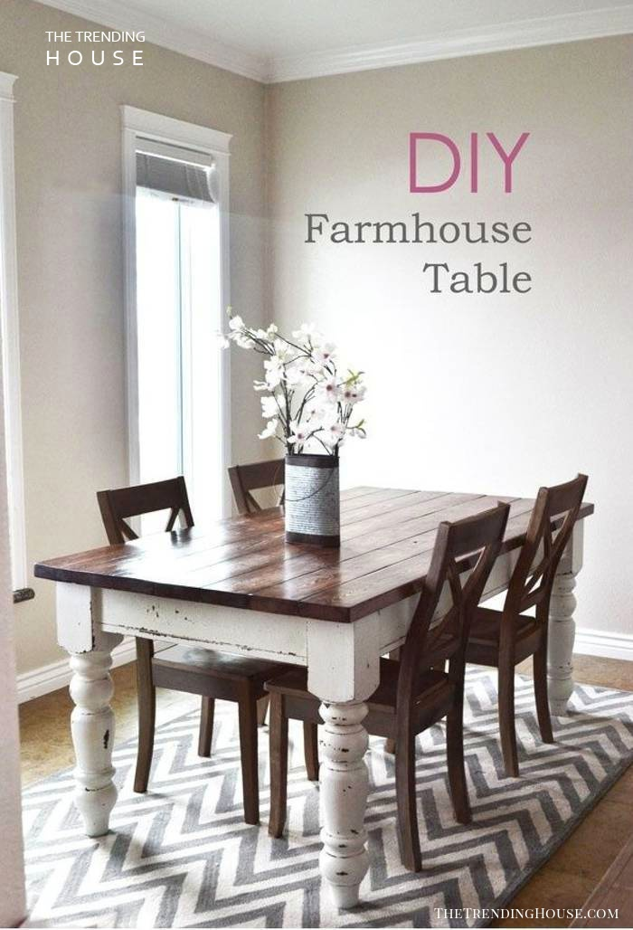 Turn an Old Table into Something Stunning