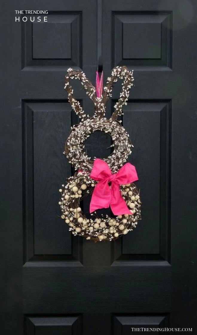 Celebrate Easter with a Charming Bunny Wreath