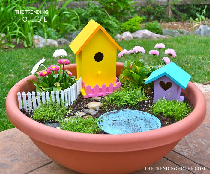 Cheerfully Yours Fairy Planter Garden