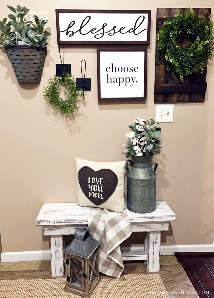 45 Charming Farmhouse Wall Decor Ideas To Add Some Rustic Flair To Your Blank Walls The Trending House