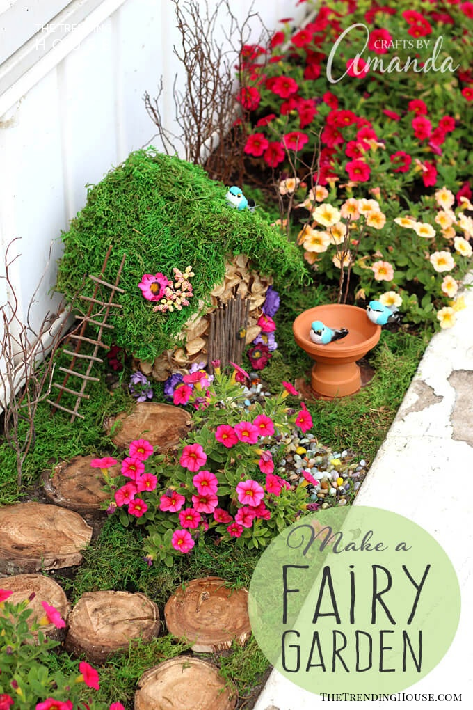Corner Home DIY Fairy Garden Ideas