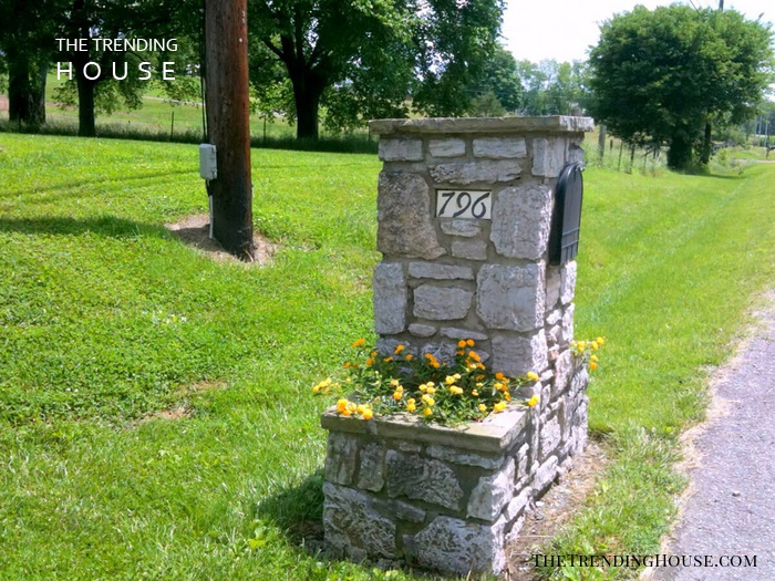 Cottage Style Mailbox for a Country Lane