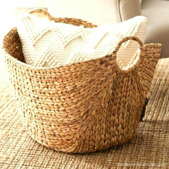Cozy Woven Design Sea Grass Basket