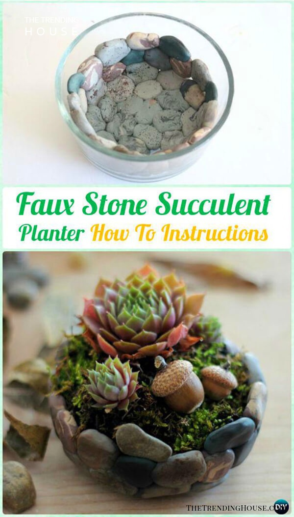 33 Diy Indoor And Outdoor Succulent Planter Ideas To Bring A Fresh Green Touch Anywhere The Trending House