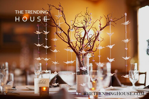 DIY Decorate With Branches Table Setting