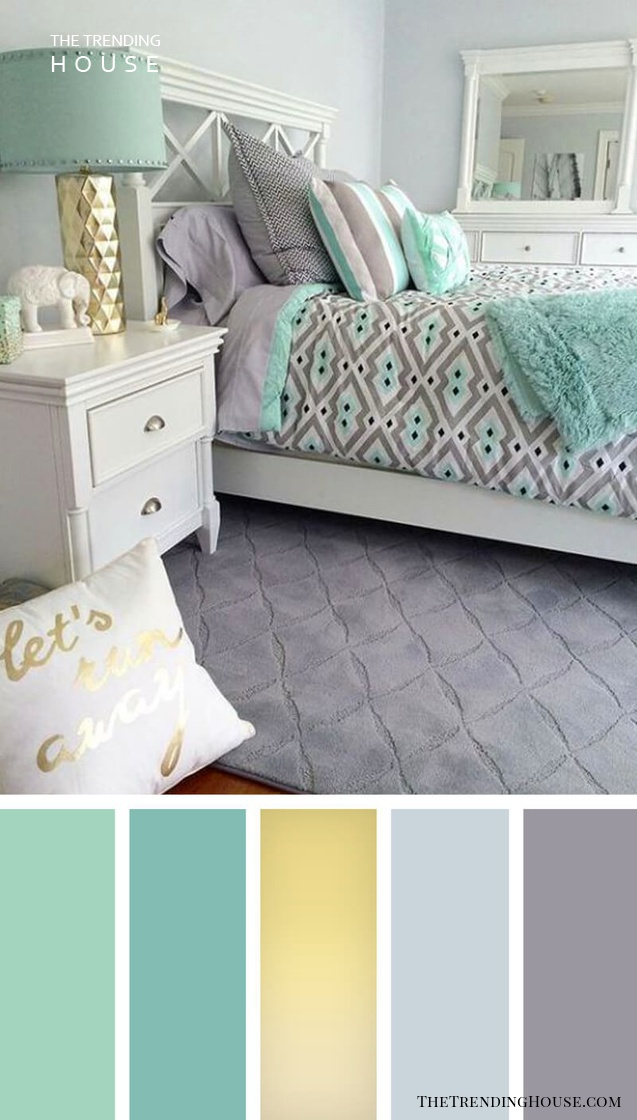 12 Gorgeous Bedroom Color Schemes That Will Give You Inspiration To Your Next Bedroom Remodel The Trending House
