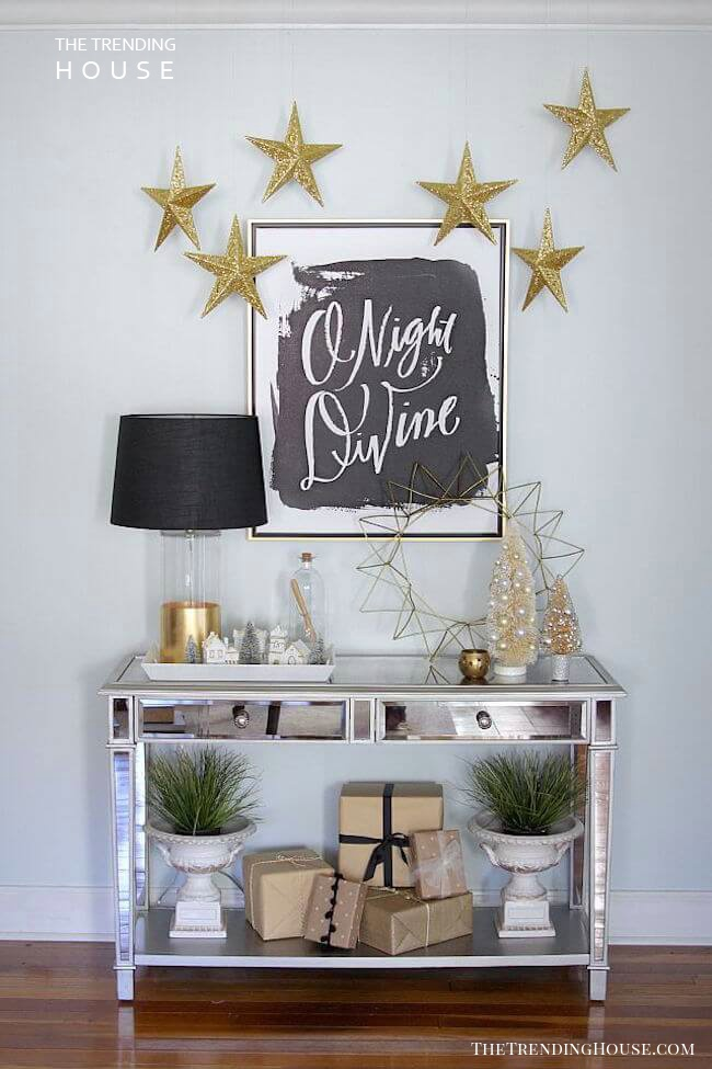 Divine Entryway Christmas Wall Decoration