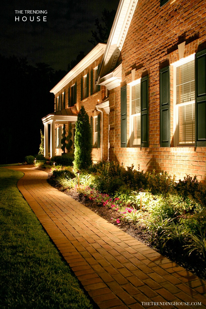 Dramatic Uplighting on Your Home