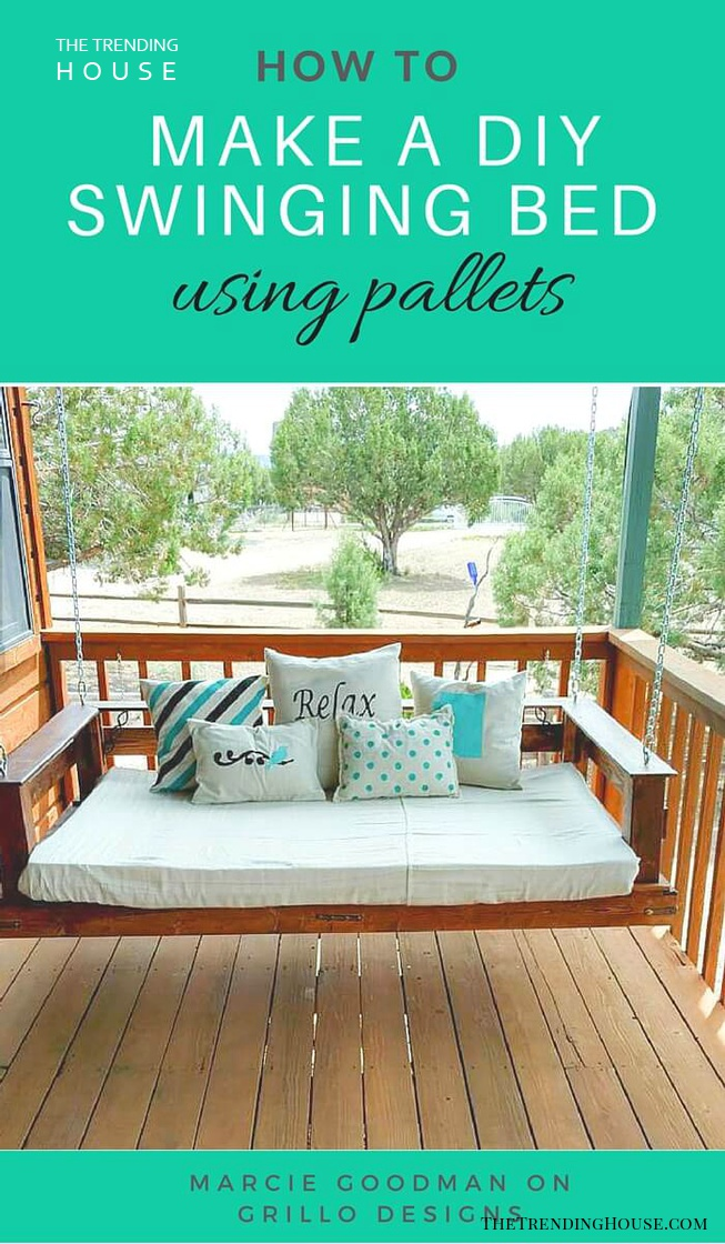 Easy Breezy DIY Porch Swing Bed Ideas