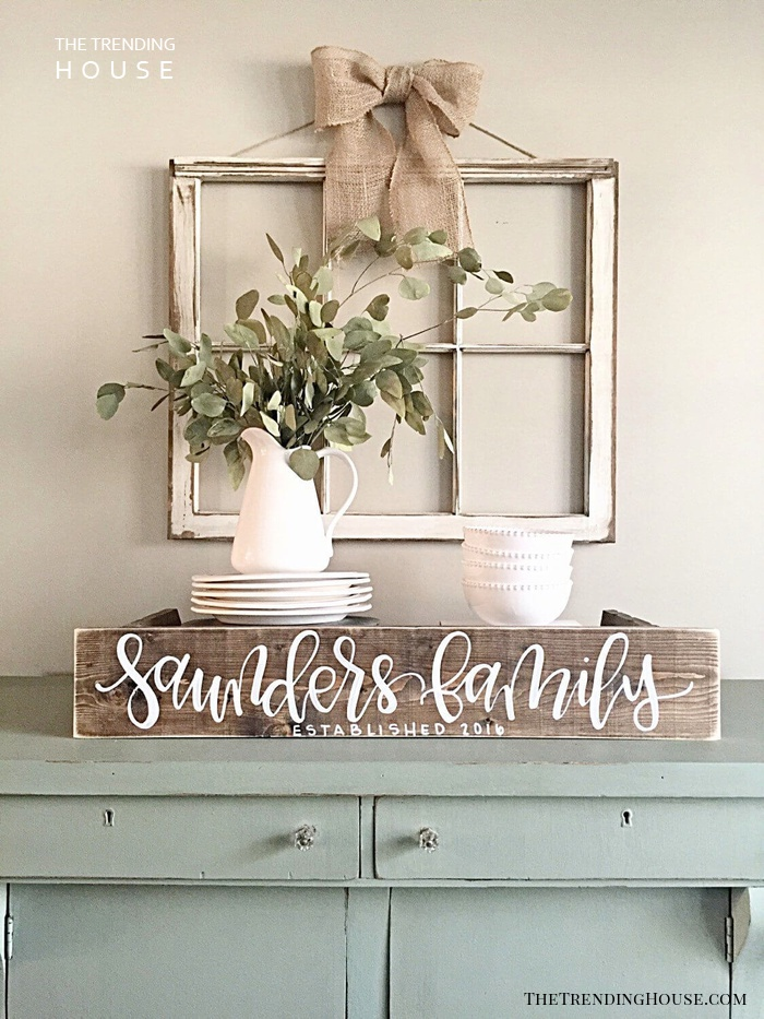 Easy Dresser to Dry Sink Conversion