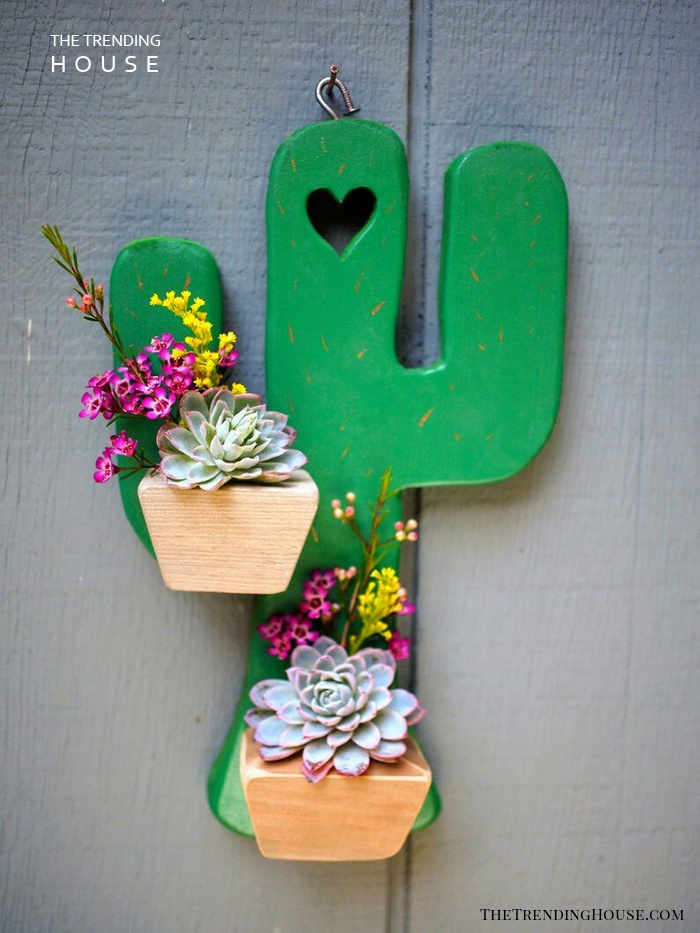 Embrace the Desert with Hanging Cactus Planter