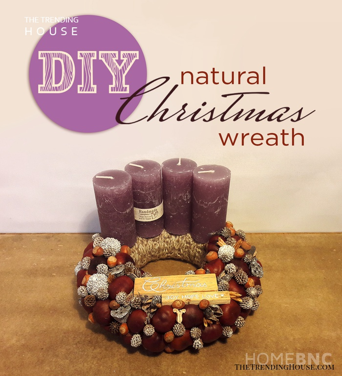 Enjoy your Gorgeous Nature Inspired Christmas Wreath