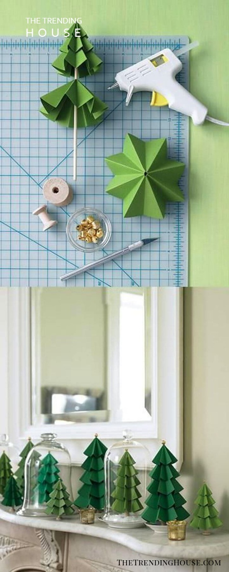 Evergree Paper Little Origami Trees