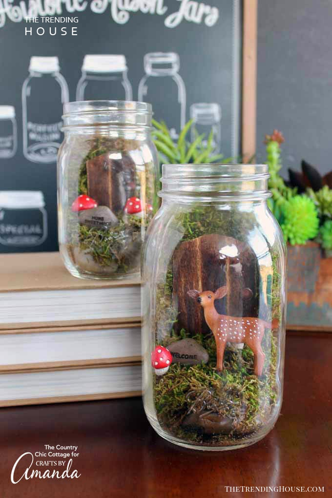 Fairyland Mason Jar Terrarium