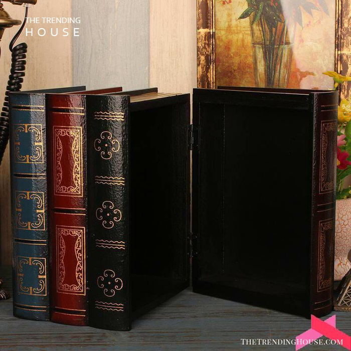 Fake Book Box for Your Bookcase