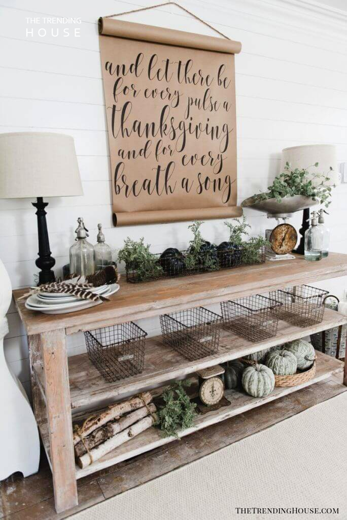 Fall-Inspired Decorations with an Earthy Touch