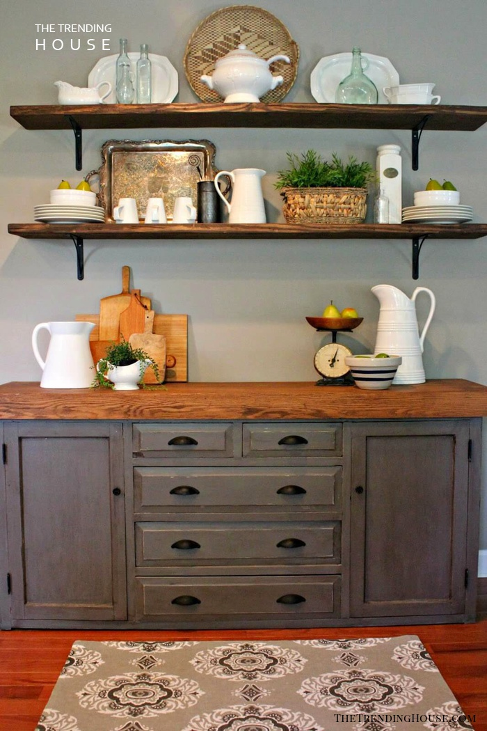 Farm Wood and Chalk Paint Dining Room