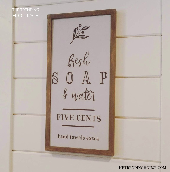35 Cute Bathrooms Sign Ideas To Make Your Bathroom Cozy And Inviting The Trending House