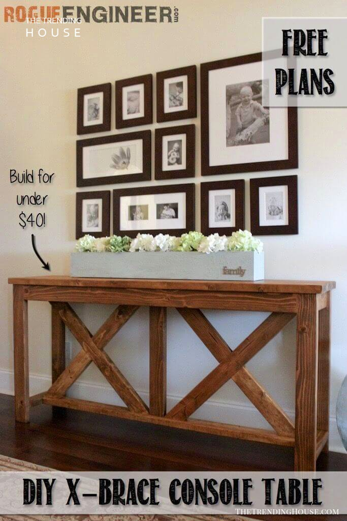 Farmhouse Console Design