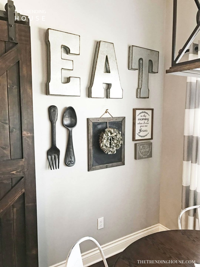 Farmhouse Kitchen Gallery Wall Inspiration