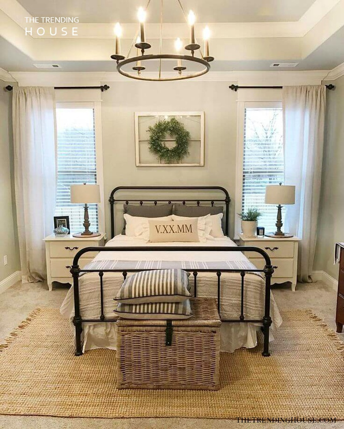 39 Rustic Farmhouse Bedroom Design And Decor Ideas To Transform Your Bedroom The Trending House