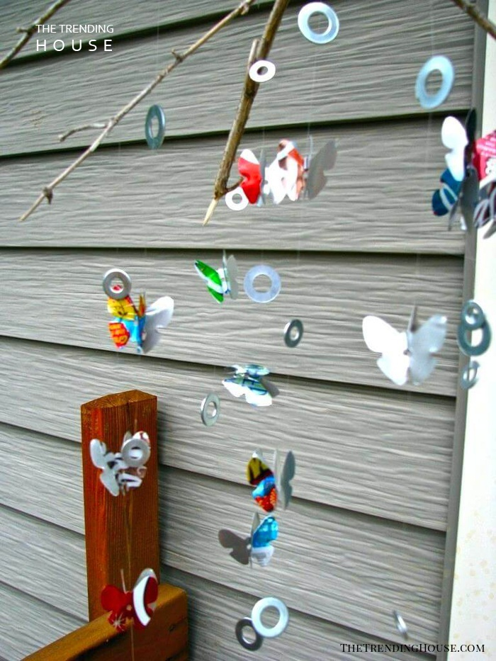 Flutterby's and Shiny Things Hanging Mobile