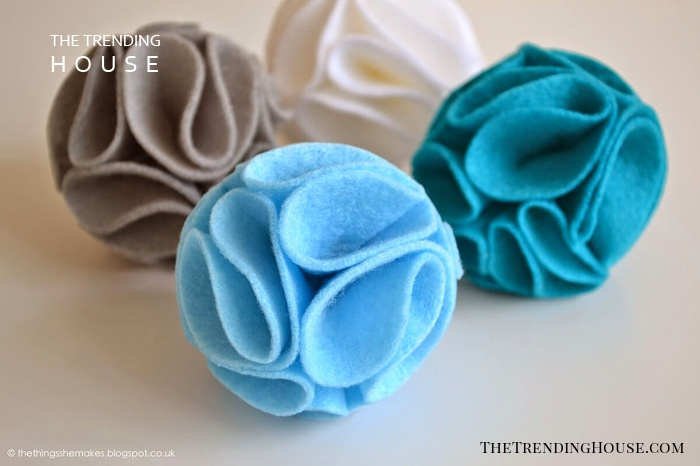Folded and Colorful Cloth Ball