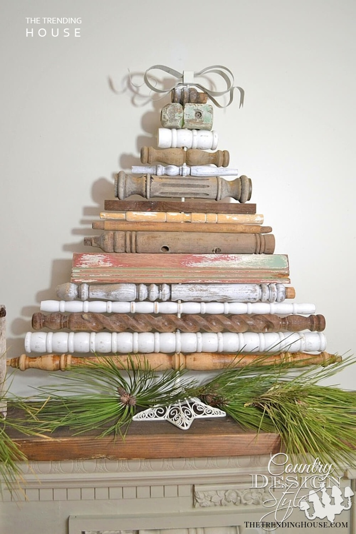 For A Truly Rustic Holiday Home Decor