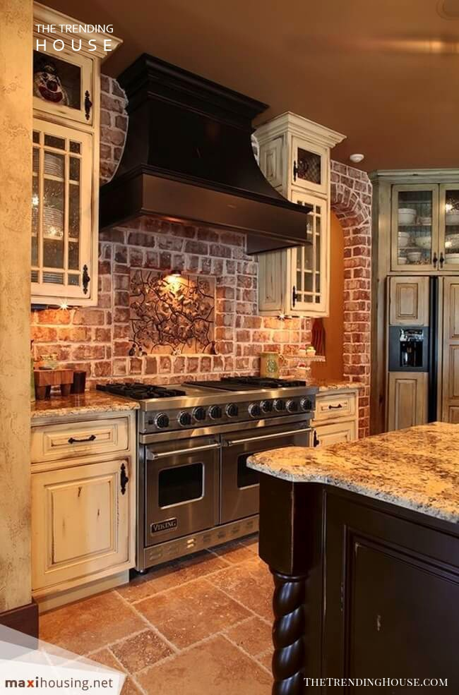Forest Retreat Rustic Earth-Toned Kitchen