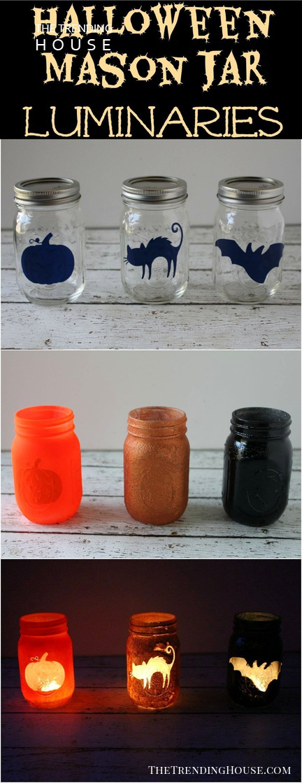 Fun and Fancy Mason Jar Halloween Craft