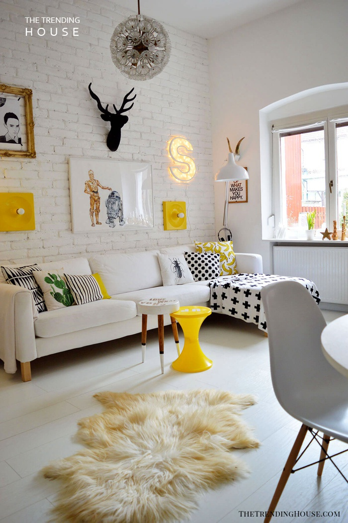 25+ Unique Small Living Room Design and Decor Ideas to ... on Fun Living Room Ideas  id=25805