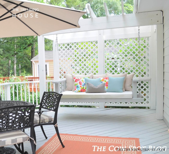 Garden Party Arbor Style Porch Swing