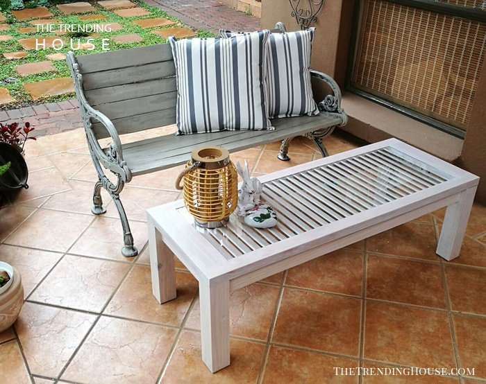 Glass Topped Table for your Patio