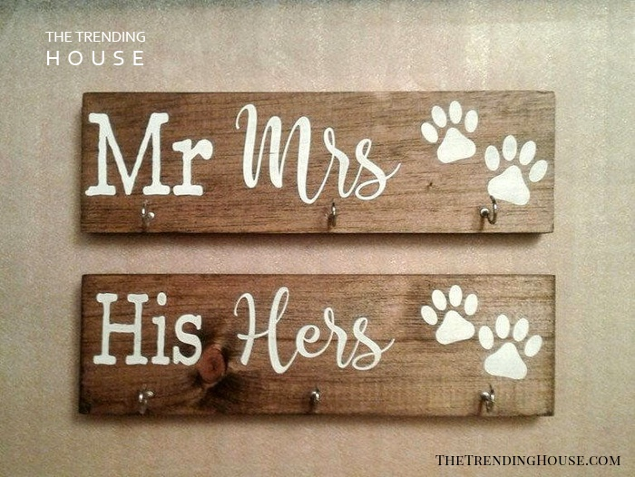 His and Hers, Mr and Misses, Dog Love