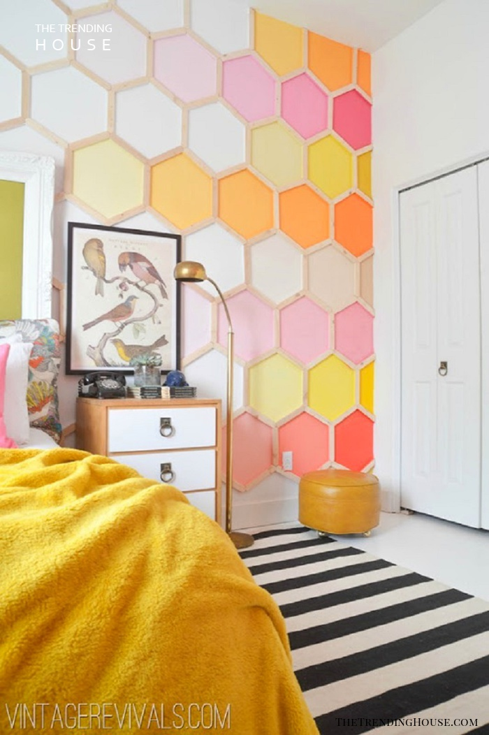 Honeycomb Accent Wall