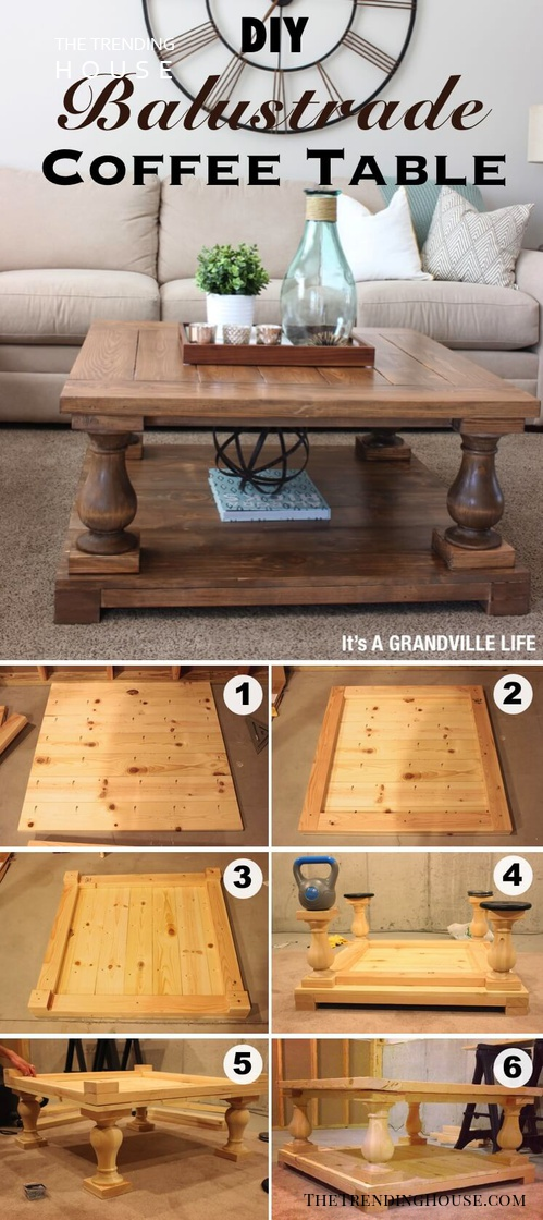 25 Diy Farmhouse Coffee Table Ideas